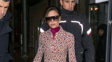 Victoria Beckham derrocha clase en París y luce más delgada que nunca