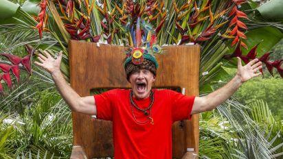 Hollywood gossip guru crowned jungle king
