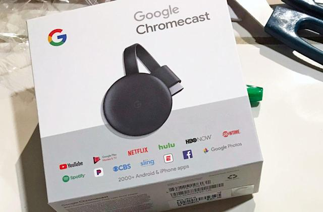 Best Buy inadvertently sold Google's next-gen Chromecast