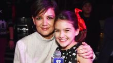 Katie Holmes and Suri Cruise Make Surprise Appearance at Jingle Ball to Introduce Taylor Swift
