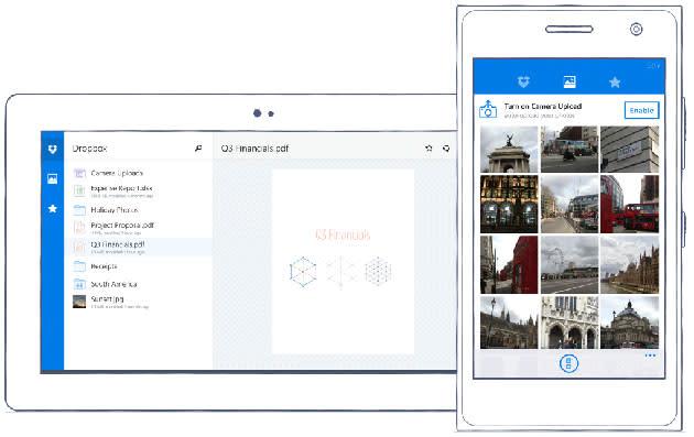 Dropbox finally has an official app for Windows Phone
