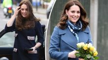 Kate Middleton donated half her hair to charity