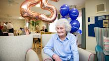 Woman, 100, celebrates her 25th leap year birthday