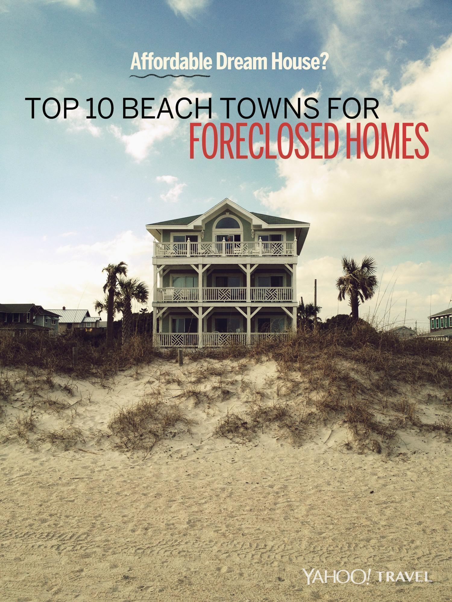 Affordable dream house top 10 beach towns for foreclosed homes - Small beach houses dream vacation ...