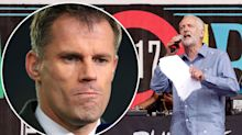 "Jamie Carragher hits out at BBC over Corbyn ""lie"""