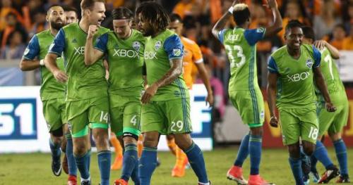 Foot - MLS - MLS : Seattle met un pied en finale après son succès face à Houston en finale aller de la conférence Ouest
