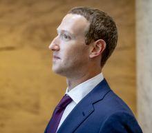Facebook CEO Mark Zuckerberg meets with President Trump