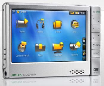 Archos announces 605 WiFi