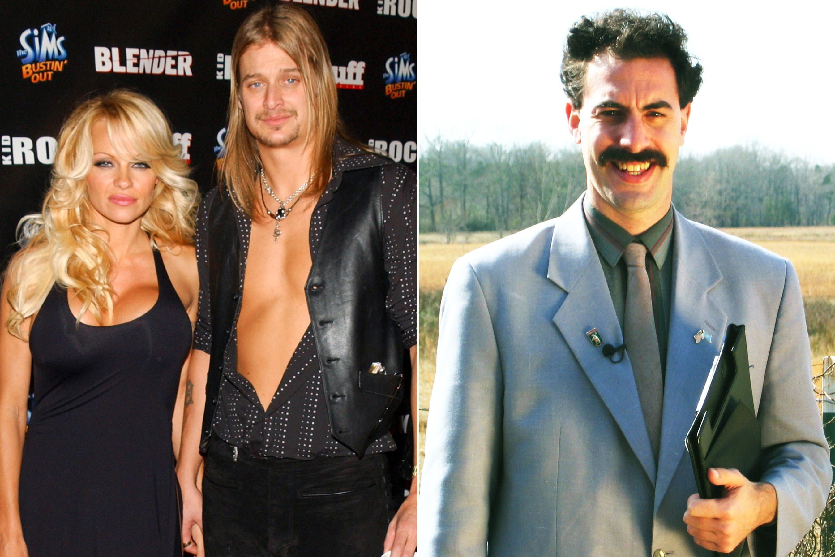 ccc71ab3fc9 Sacha Baron Cohen admits Borat caused Pamela Anderson and Kid Rock's divorce