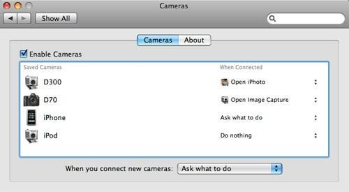 Manage multiple cameras with Cameras