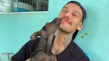 """Lucas Lucco adota cachorrinha mutilada por acidente de trem: """"Minha nova filhinha"""""""
