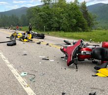 New Hampshire motorcycle crash that killed 7 spurs investigation of Mass. trucking company