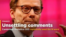 Suspended Cambridge Analytica CEO reportedly used the N-word in an email to describe potential clients