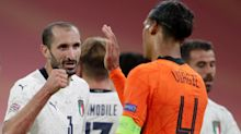Chiellini could still teach defenders a thing or two, says Italy boss Mancini