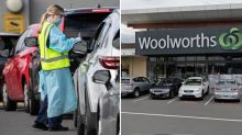 Virus warning for Woolworths shoppers as worker positive