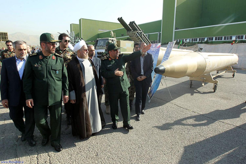 Iran unveils new missiles, drones