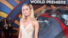 Brie Larson sorprende a los espectadores de un cine durante la proyección de Capitana Marvel