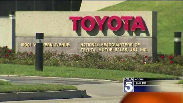 Toyota Moving Headquarters From Torrance to Texas