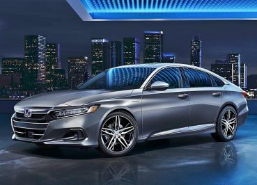 2021年式小改Honda Accord車頭造型劇變得十分霸氣,內裝科技大幅升級