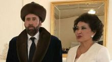 Baffling Nicolas Cage in Kazakhstan picture goes viral