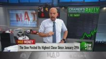 Cramer: Wall Street short-sellers are losing because they...