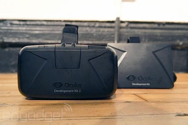 The second Oculus Rift headset uses the Samsung Note 3 screen, literally