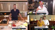 Tous en cuisine en direct avec Cyril Lignac: aux petits soins pour Iris Mittenaere, le chef zappe le timing et... le prénom de son compagnon