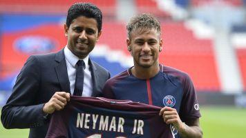 """Al-Khelaifi: """"Nadie obligó a Neymar a firmar y Mbappé va a seguir al 200%"""""""