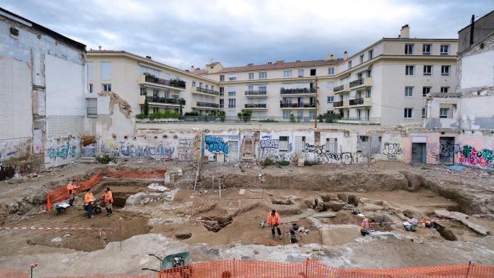 À Nîmes, deux maisons romaines aux décors remarquables mises au jour