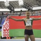 Belarusian sprinter says country removed her from Olympic events for speaking out about coaches