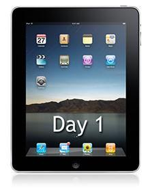 Reflections: A day and a night with the iPad