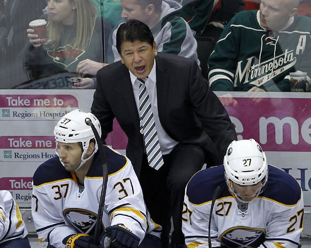 Sabres sticking with Nolan, who signs 3-year deal