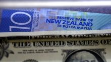 Kiwi down in early Asia, Aussie and Indian rupee eyed