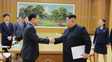 North Korea say they are willing to give up their nuclear weapons 'if security is guaranteed'