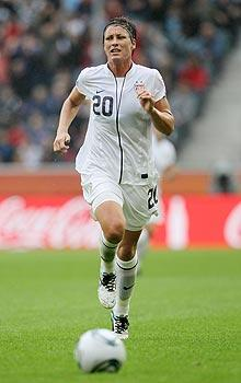 USA's Wambach was bred for this moment