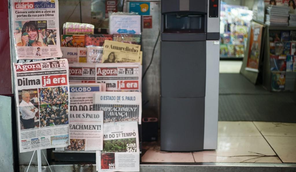 Folha de Sao Paulo and Globo, the country's two biggest dailies, were forced to halt publication online and in print of reports giving details of the attempted extortion last year by a man convicted of hacking Marcela Temer's cellphone