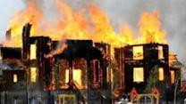 Church Ablaze in Horlivka After 'Shelling'