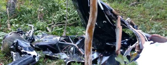 Helicóptero cai e mata noiva que estava a caminho de casamento