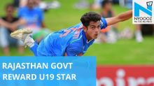 U-19 WC star Nagarkoti rewarded with Rs 25 lakh