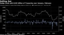 Hedge Funds Nailed Treasuries Rout With $100 Billion in Sales