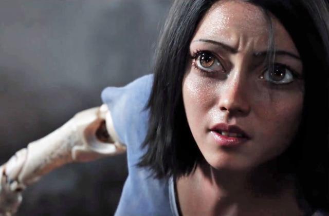 James Cameron's 'Alita: Battle Angel' stars creepy CG anime eyes