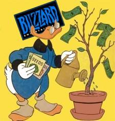 Activision doing well, Blizzard has spent $200M in upkeep on WoW