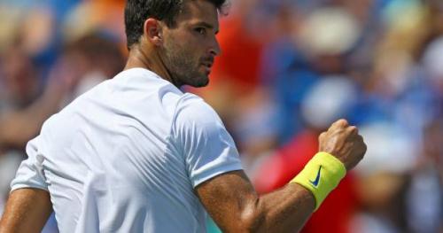Tennis - ATP - Cincinnati - Grigor Dimitrov domine John Isner et file en finale à Cincinnati