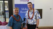 Hawaiian Airlines flight to Boston departs Honolulu on longest U.S. interstate route