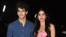 Janhvi and Ishaan make the cutest couple at the screening of 'Dhadak'