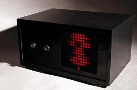 Black Box Lightshow flickers its LEDs to the beat
