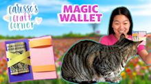 Easy craft idea for kids: A DIY 'magic' wallet