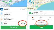 Go-Jek Vs Grab In S'pore: Which One Gives You Cheaper Fares And Promo Codes?