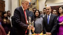 Donald Trump Celebrates Diwali Late, Praises Haggling and Wishes All Indians Except Hindus