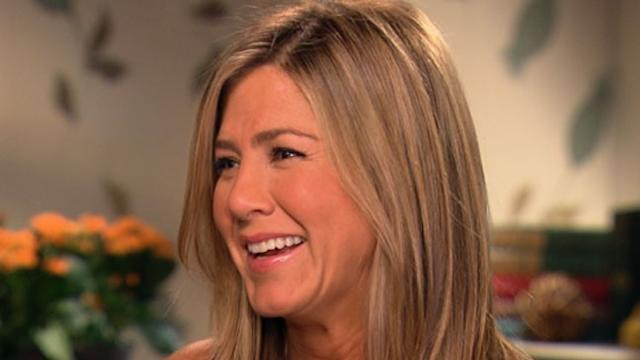Aniston on 'Panic' Setting In Before Tackling Stripper Role